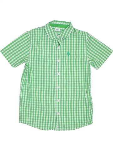 Chemise manches courtes garçon F&F vert 14 ans été #1302915_1