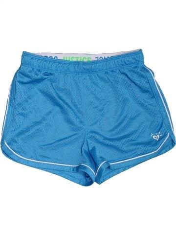 Pantalon corto deportivos niña JUSTICE azul 10 años verano #1303001_1
