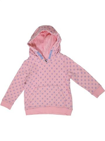 Sudadera niña GEORGE rosa 3 años invierno #1303010_1