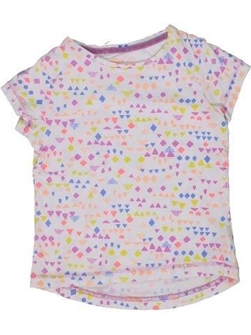Camiseta de manga corta niña MOTHERCARE blanco 4 años verano #1303054_1