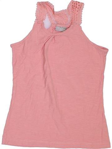T-shirt sans manches fille I LOVE GIRLSWEAR rose 11 ans été #1303505_1