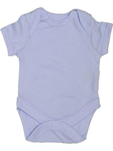 T-shirt manches courtes garçon SANS MARQUE bleu prématuré été #1303525_1