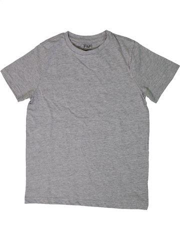 Camiseta de manga corta niño F&F gris 9 años verano #1303866_1