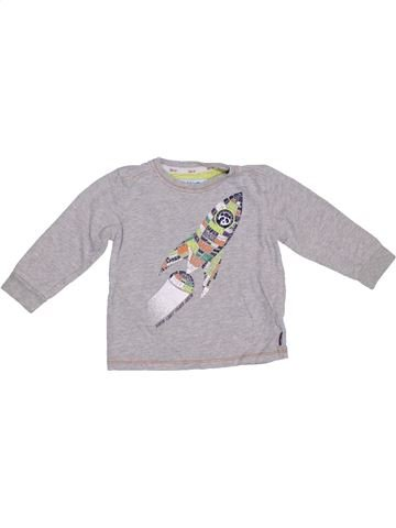 T-shirt manches longues garçon TED BAKER gris 18 mois hiver #1304175_1