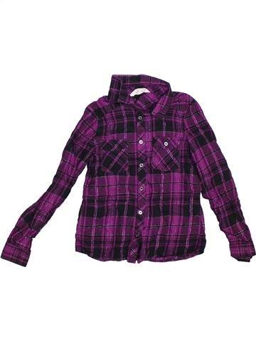 Blusa de manga larga niña H&M azul 9 años invierno #1304187_1