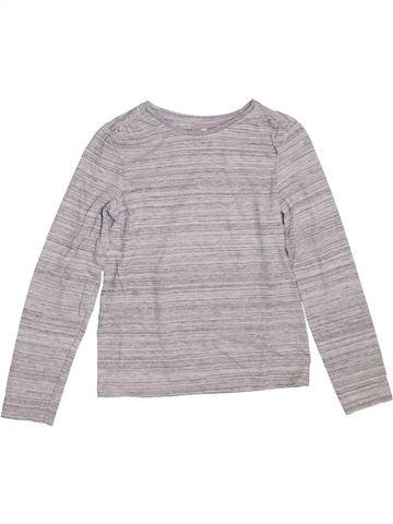 Camiseta de manga larga niña TU gris 9 años invierno #1304335_1