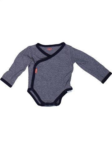 T-shirt manches longues garçon HEMA bleu 1 mois hiver #1304405_1