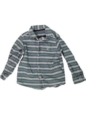 Chemise manches longues garçon NUTMEG bleu 3 ans hiver #1304428_1