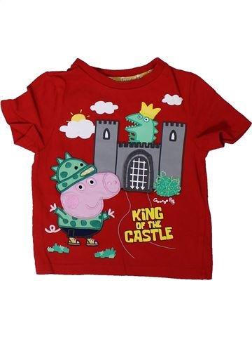 Camiseta de manga corta niño NUTMEG rojo 2 años verano #1304566_1