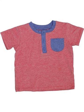 Camiseta de manga corta niño GEORGE rosa 2 años verano #1304660_1