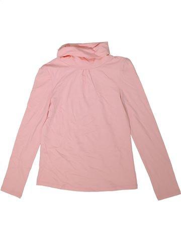 Camiseta de cuello alto niña C&A rosa 10 años invierno #1304726_1