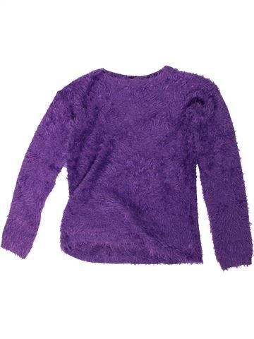 Pull fille Y.F.K violet 14 ans hiver #1304766_1