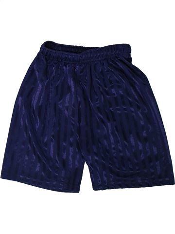 Pantalon corto deportivos niño SANS MARQUE violeta 7 años verano #1304828_1