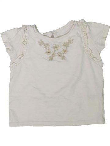 Camiseta de manga corta niña MATALAN blanco 3 años verano #1304833_1
