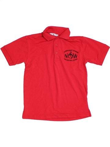 Polo de manga corta niño KUSTOM KIT rojo 10 años verano #1304984_1