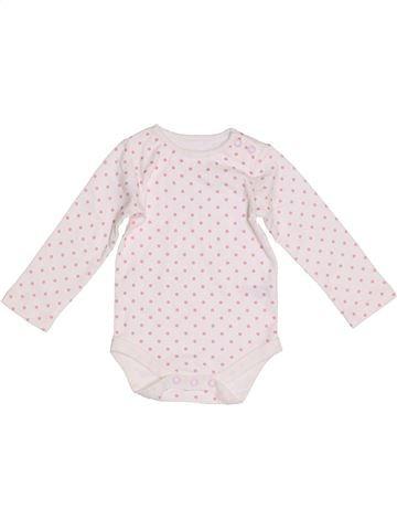 T-shirt manches longues fille ST BERNARD blanc 9 mois hiver #1304997_1
