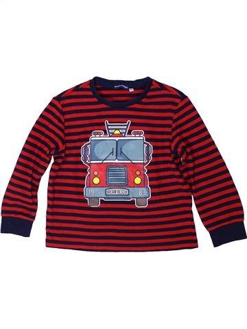 T-shirt manches longues garçon ORIGINAL MARINES marron 7 ans hiver #1305267_1