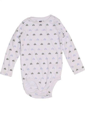 Camiseta de manga larga niño H&M blanco 2 años invierno #1305271_1