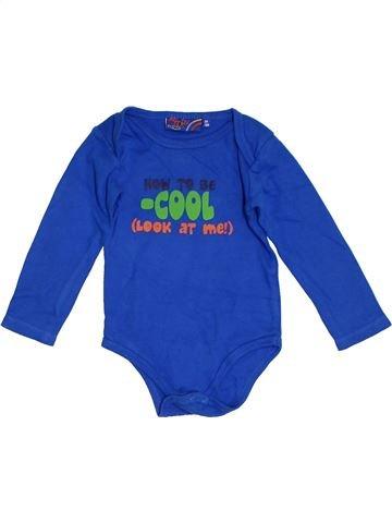 T-shirt manches longues garçon SANS MARQUE bleu 18 mois hiver #1305285_1