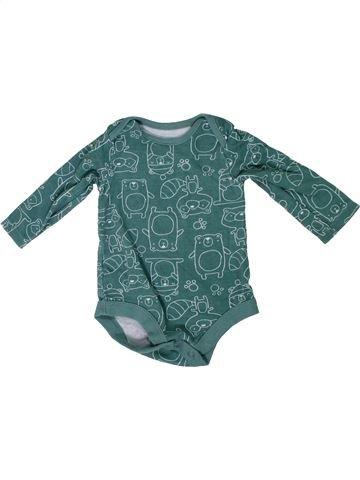 Camiseta de manga larga niño TU azul 3 meses invierno #1305311_1