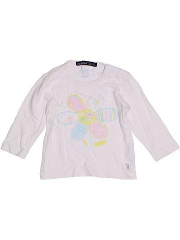 Camiseta de manga larga niña FASHION blanco 9 meses invierno #1305470_1