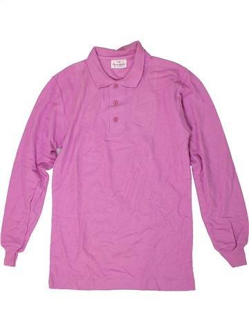 Polo de manga larga niño FORMICULA violeta 10 años invierno #1305493_1