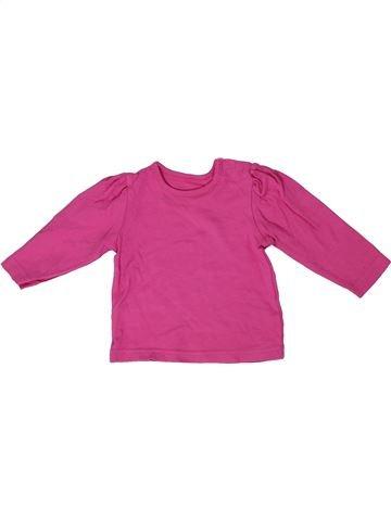 Camiseta de manga larga niña GEORGE violeta 9 meses invierno #1305524_1