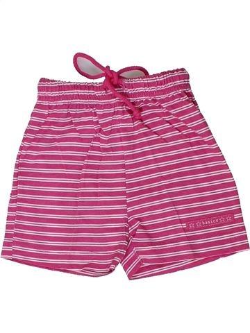 Short - Bermuda fille BASICS rose 18 mois été #1305536_1