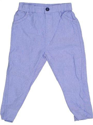 Pantalon garçon GEORGE violet 18 mois été #1305687_1