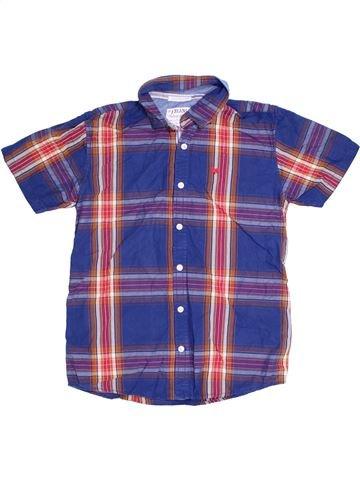 Chemise manches courtes garçon JASPER CONRAN bleu 14 ans été #1305695_1