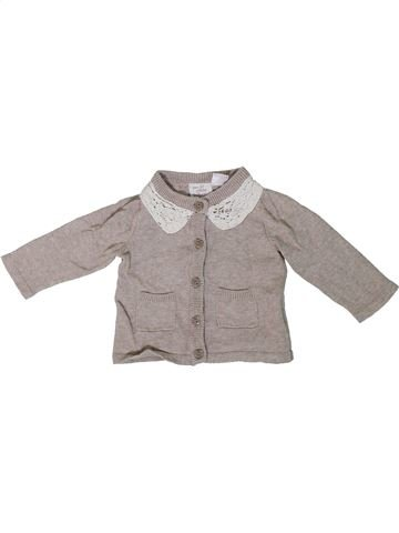 Gilet fille LUPILU gris 1 mois hiver #1305712_1
