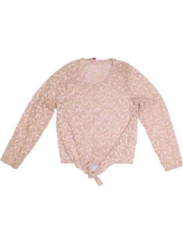 T-shirt manches longues fille SOPHIE rose 14 ans été #1305731_1