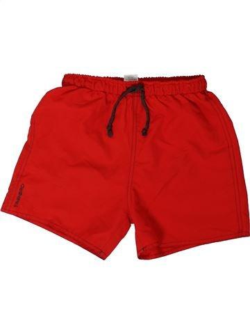 Maillot de bain garçon TRIBORD rouge 8 ans été #1305795_1