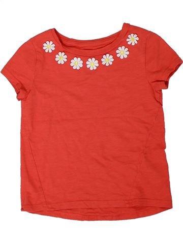 Camiseta de manga corta niña NUTMEG rojo 5 años verano #1305804_1