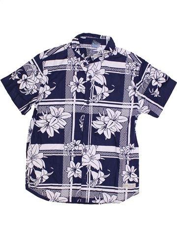 Chemise manches courtes garçon OCEAN PACIFIC blanc 10 ans été #1305809_1