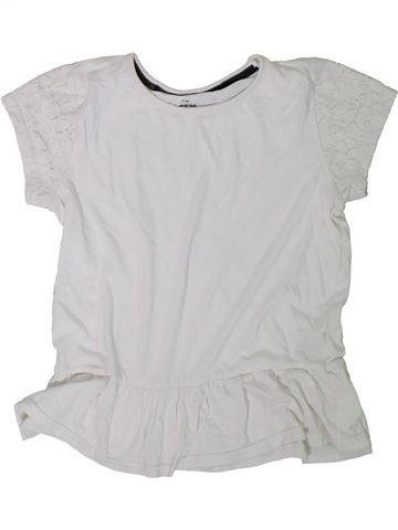 Camiseta de manga corta niña MATALAN blanco 11 años verano #1305877_1