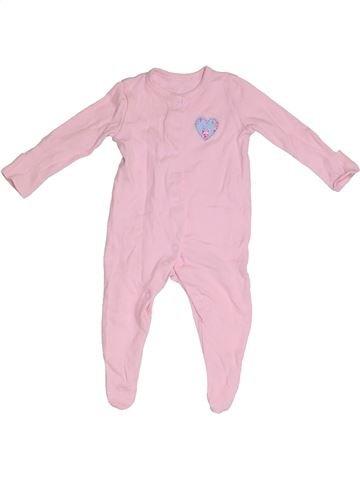 Pijama de 1 pieza niña GEORGE rosa 3 meses verano #1305947_1