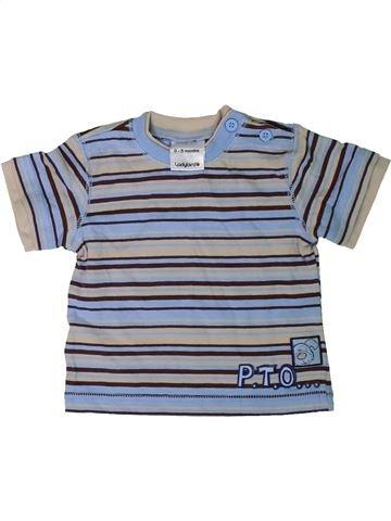 Camiseta de manga corta niño LADYBIRD gris 3 meses verano #1305958_1