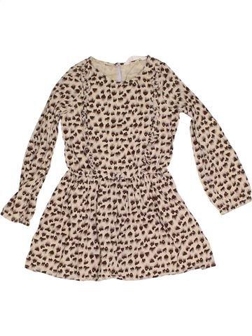 Robe fille H&M beige 7 ans hiver #1305963_1