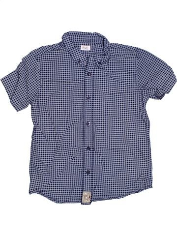Camisa de manga corta niño F&F gris 8 años verano #1306045_1