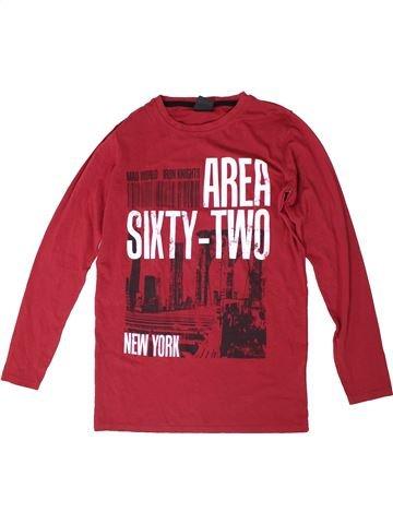 Camiseta de manga larga niño DOGNOSE rojo 14 años invierno #1306050_1