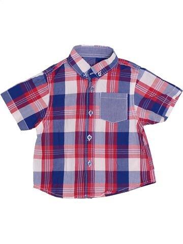 Chemise manches courtes garçon PRIMARK violet 18 mois été #1306077_1