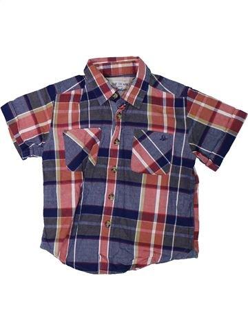Camisa de manga corta niño MANTARAY azul 3 años verano #1306153_1