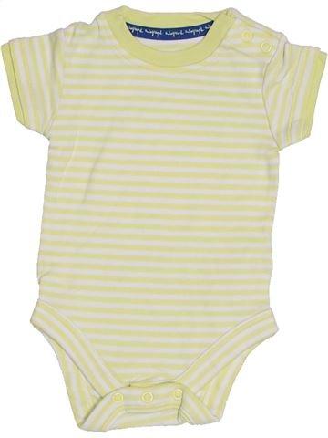 T-shirt manches courtes garçon MARKS & SPENCER beige 3 mois été #1306156_1