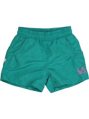 Short de sport garçon LA GEAR vert 8 ans été #1306174_1