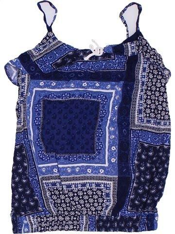 Blusa de manga corta niña TU azul 9 años verano #1306225_1