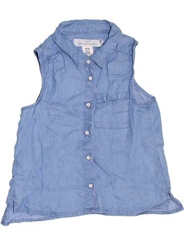 Blusa de manga corta niña H&M azul 10 años verano #1306232_1