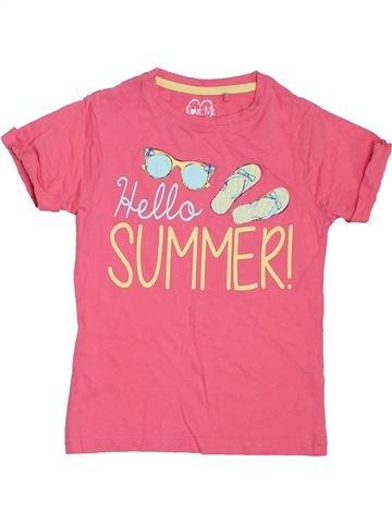 Camiseta de manga corta niña LOVE ME rosa 8 años verano #1306346_1