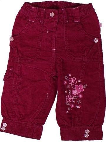Pantalon fille OKAY violet 9 mois hiver #1306348_1