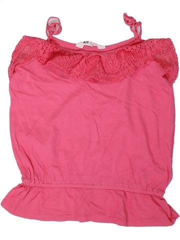 Camiseta sin mangas niña H&M rosa 12 años verano #1306367_1